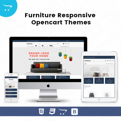 Minimal Store 3 – Furniture Responsive OpenCart Themes