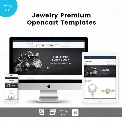 Minimal Store 4 – Jewelry Premium OpenCart Templates