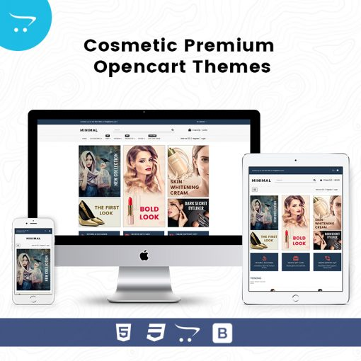 Minimal Store 7 – Cosmetic Premium OpenCart Themes
