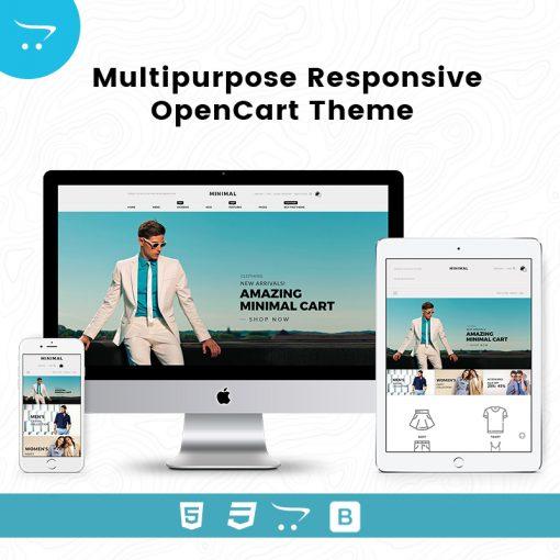 Minimal Cart 1- Multipurpose Responsive Opencart Theme