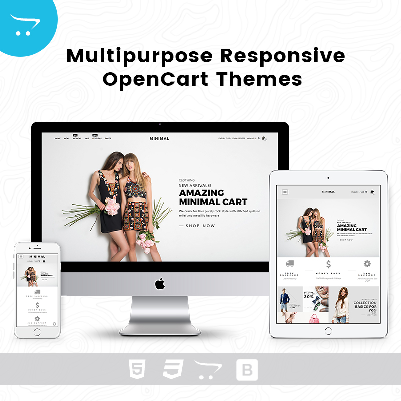 Multipurpose Responsive Opencart Themes