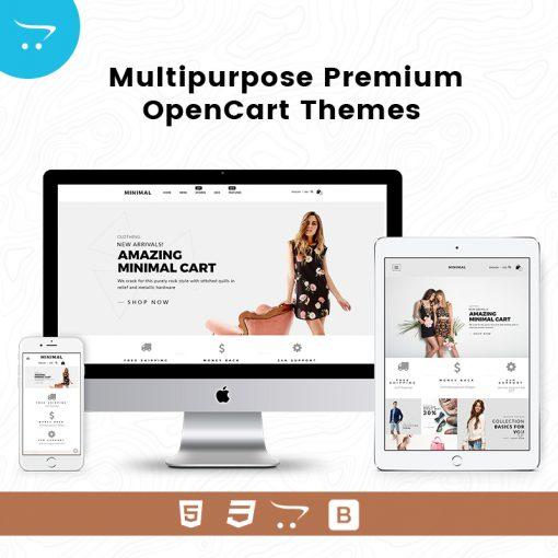 Minimal Cart 3 – Multipurpose Premium OpenCart Themes