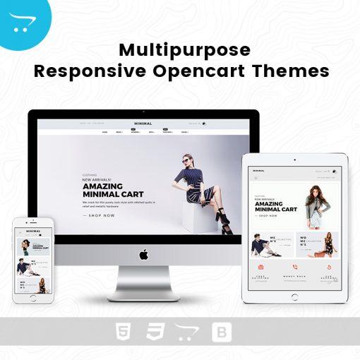 Minimal Cart 5 – Multipurpose Responsive Opencart Themes