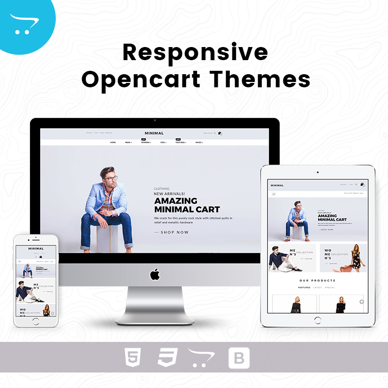 Minimal Cart 6 – Responsive Opencart Theme