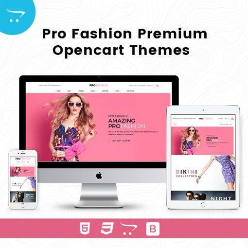 Pro Fashion – Premium OpenCart Themes