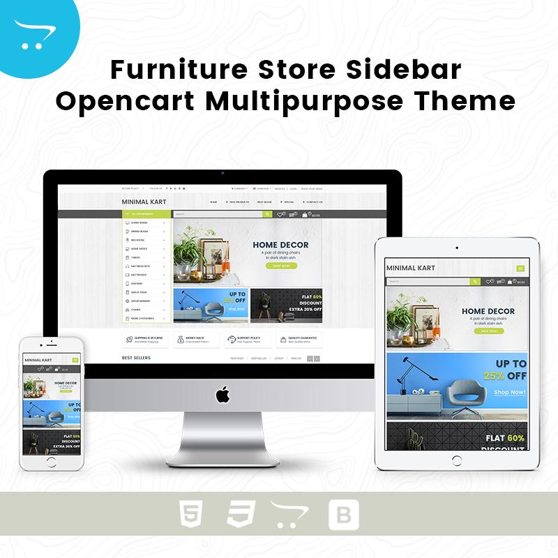 Furniture Store SideBar – Opencart Multipurpose Theme
