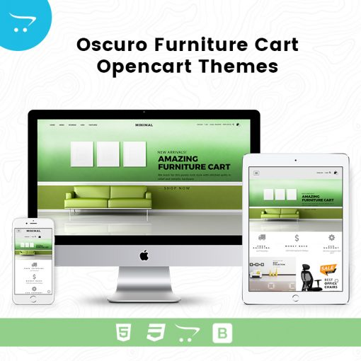 Premium OpenCart Templates – Oscuro Store 3