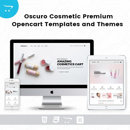 Premium OpenCart Templates And Themes – Oscuro Store 5