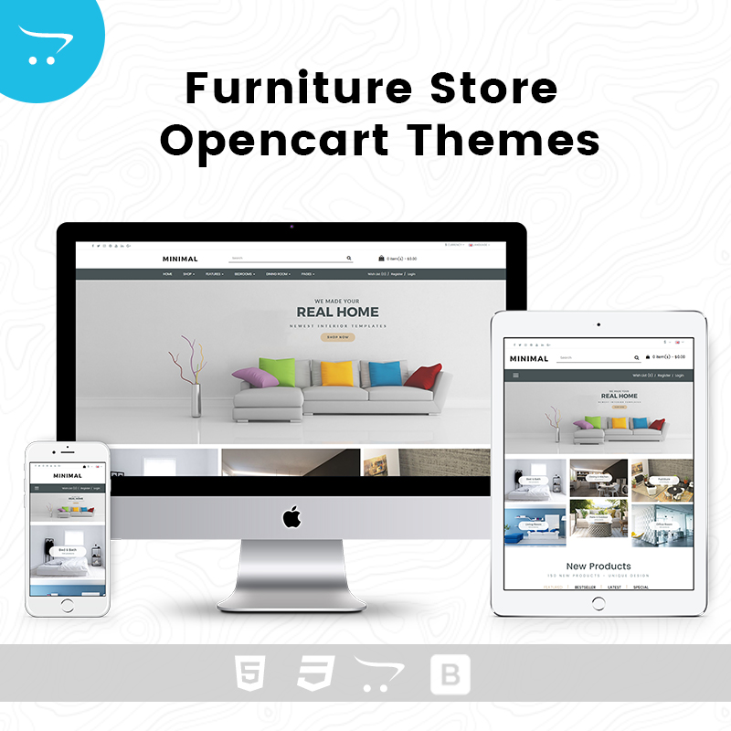 Furniture Store – OpenCart Themes