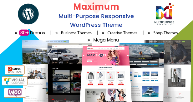 2018's Top Collections Of Premium Responsive WordPress Themes