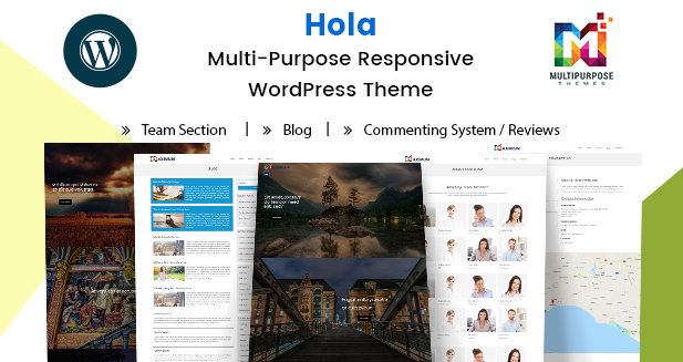 Multipurpose Responsive WordPress Themes