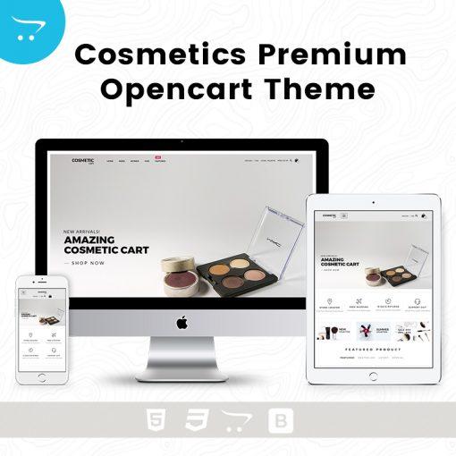 Cosmetics – Premium OpenCart Theme