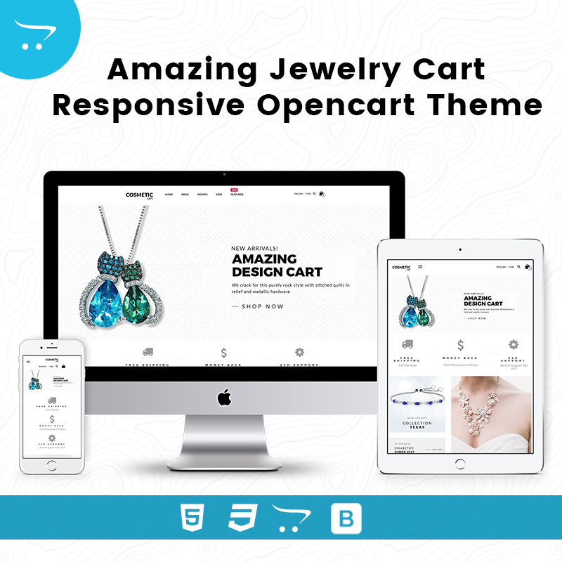 Amazing Design Cart – Responsive Opencart Theme