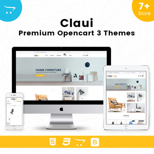 Claui – Responsive Opencart Themes