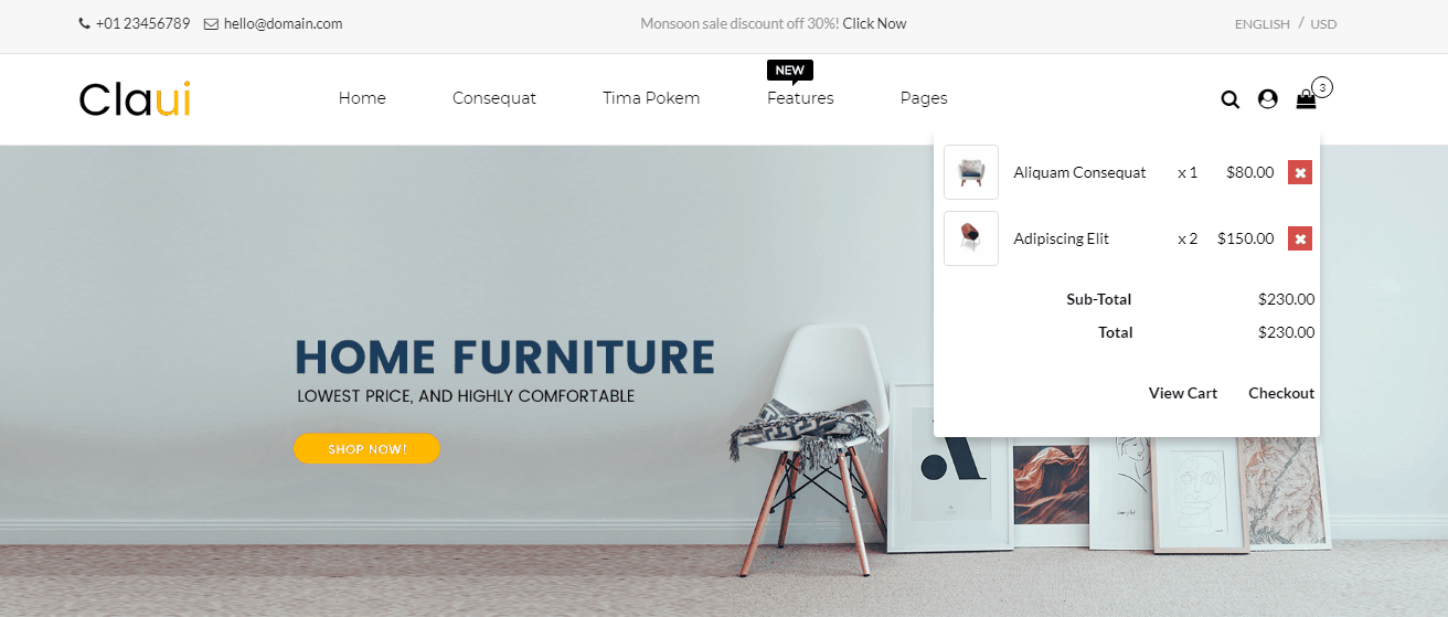Opencart Multipurpose Theme