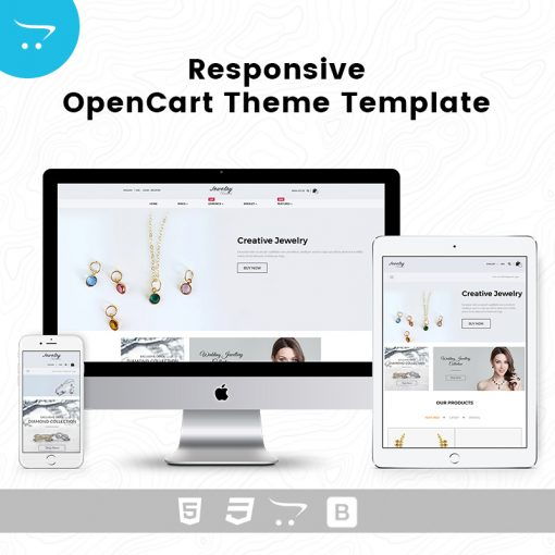 Jewelry Store 1 – Responsive OpenCart Theme Template