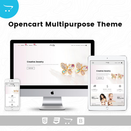 Jewelry Store 3 – Responsive Opencart Theme
