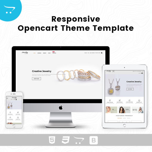 Jewelry Store 5 – Premium OpenCart Templates And Themes