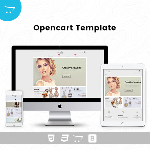 Jewelry Store 6 – OpenCart Templates