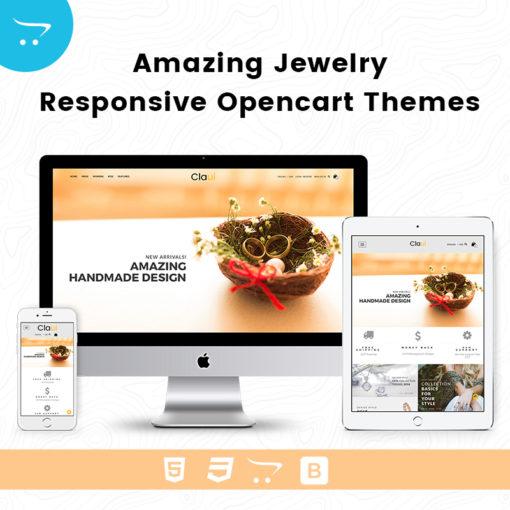 Amazing Jewelry – Responsive Opencart Themes