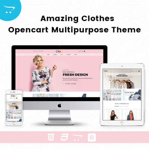 Amazing Clothes – Opencart Multipurpose Theme