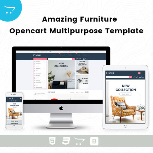 Amazing Furniture – OpenCart Multipurpose Template