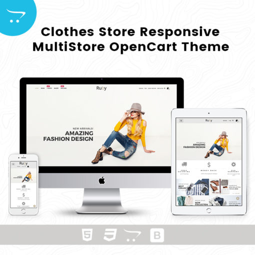 Clothes Store – Responsive MultiStore OpenCart Theme