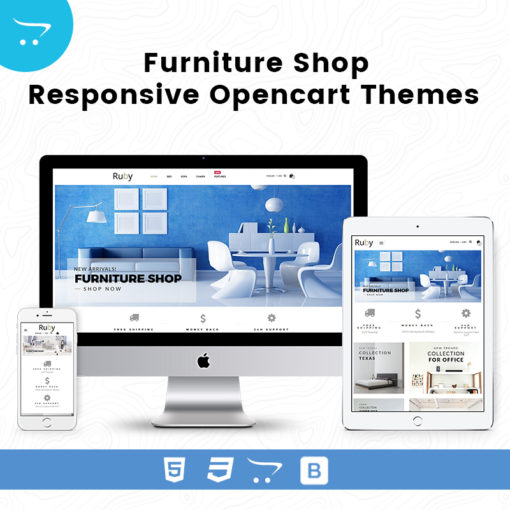 Furniture Shop – Responsive Opencart Themes