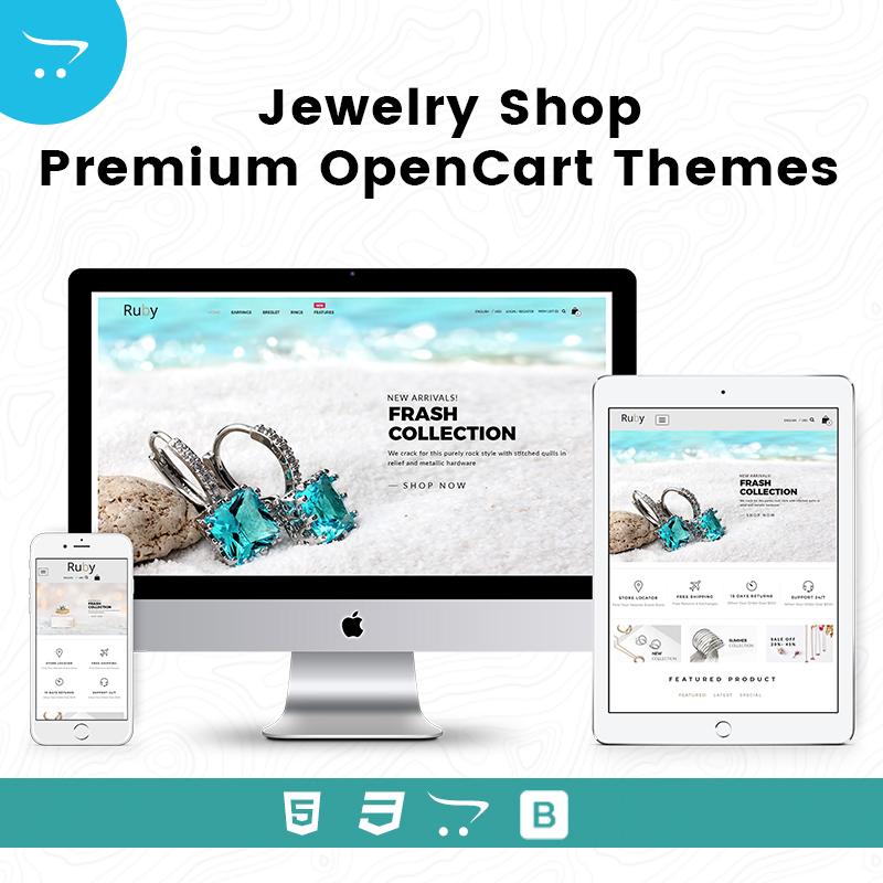 Jewelry Shop –  Premium OpenCart Themes
