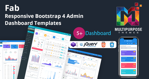 Fab Cryptocurrency Dashboard – Bootstrap Admin Templates Web App