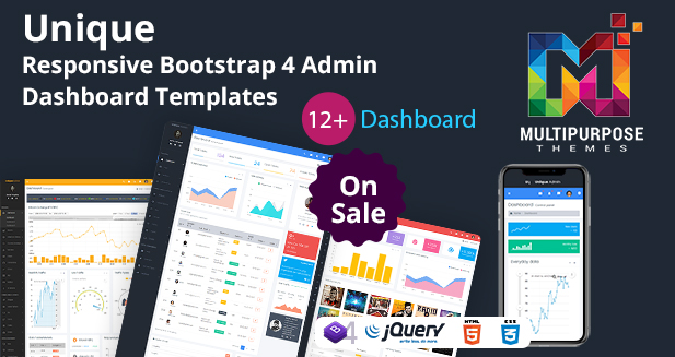 Unique Boxed Dashboard – Responsive Bootstrap Admin Templates