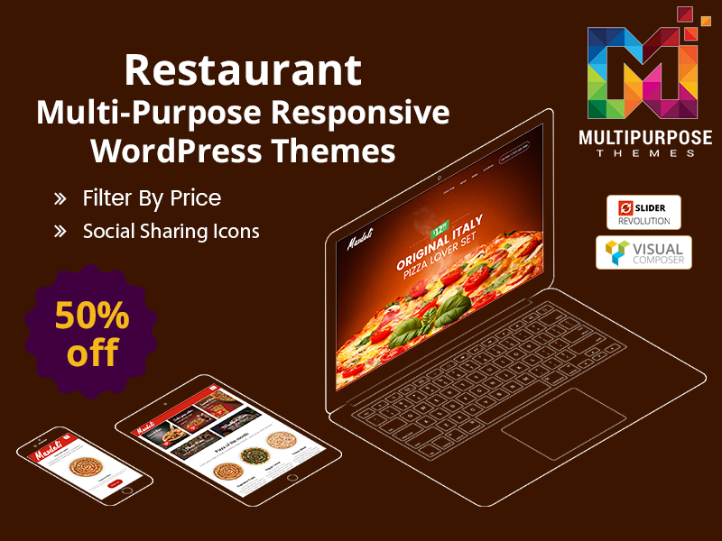 Best WordPress Themes For Shopping, Jewelry And Restaurant And Other Business