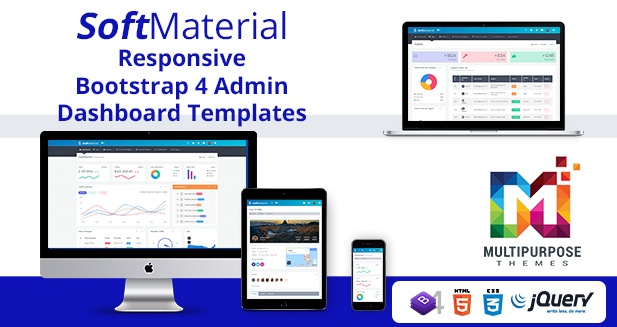 Soft Analytics – Bootstrap Admin Templates & Dashboard