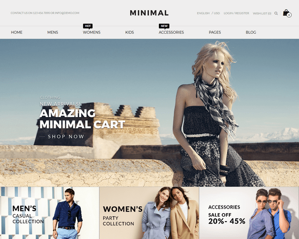 OpenCart Themes For Fashion Store, Cosmetic, Jewelry Store