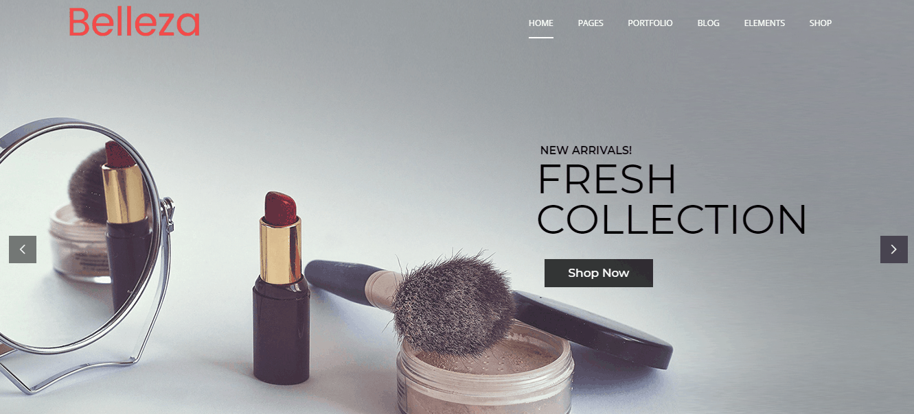 Cosmetic Store Responsive WordPress Themes For 2018