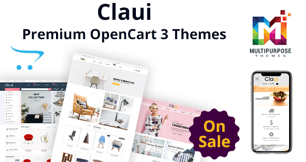 Claui Opencart Themes For Any Kind Of Sores
