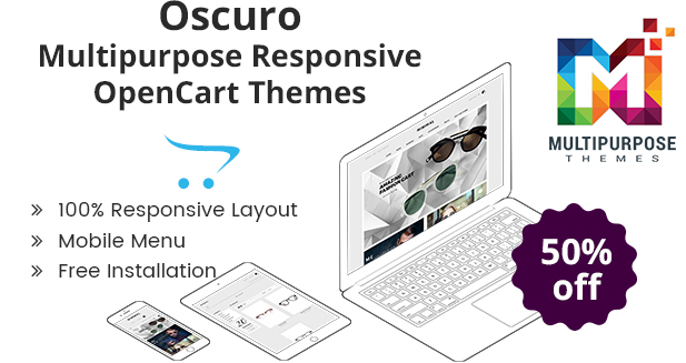 Eye Wear OpenCart Themes For 2019 By MultiPurpose Themes