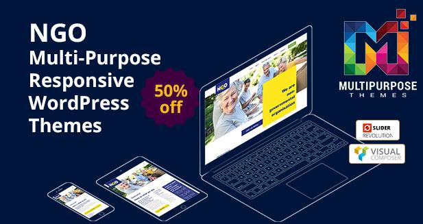 NGO A Premium WordPress Themes By MultiPurpose Themes