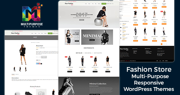 WordPress Themes For Fashion Store By MultiPurpose Themes