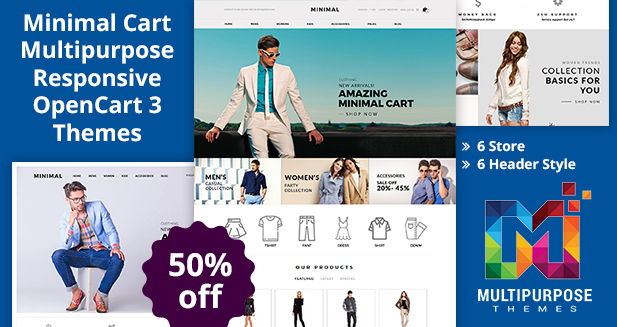 Good E-Commerce OpenCart Themes For Your Fashion Store
