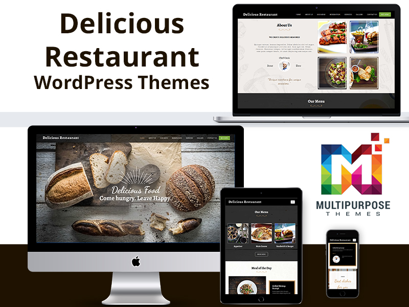 Best WordPress Themes For Your Food Business By MultiPurpose Themes