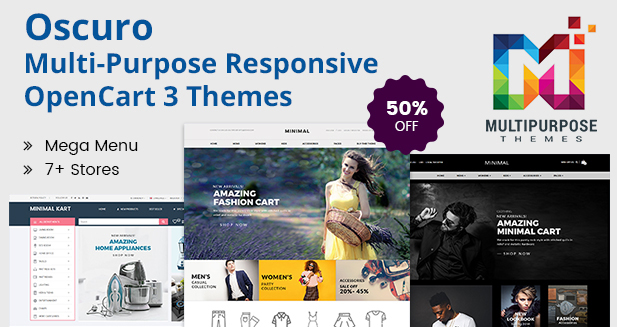 Responsive OpenCart Themes With Lots Of Features