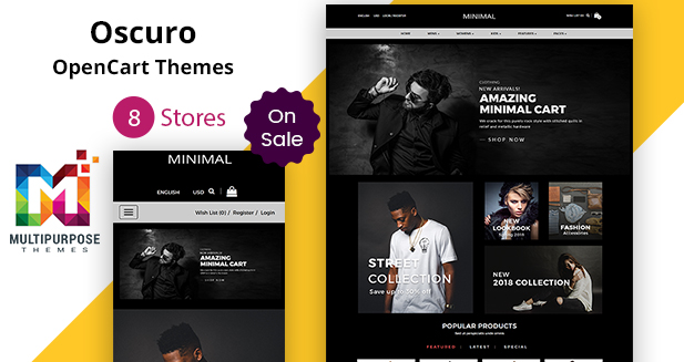 Get This 8 Stores Premium OpenCart Themes Of 2018 Just For $38