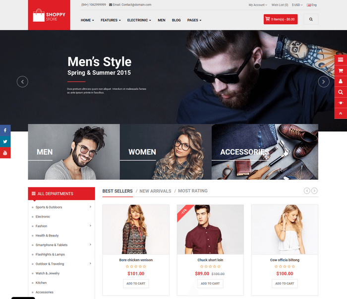 35+ Amazing Multipurpose OpenCart Themes For 2018