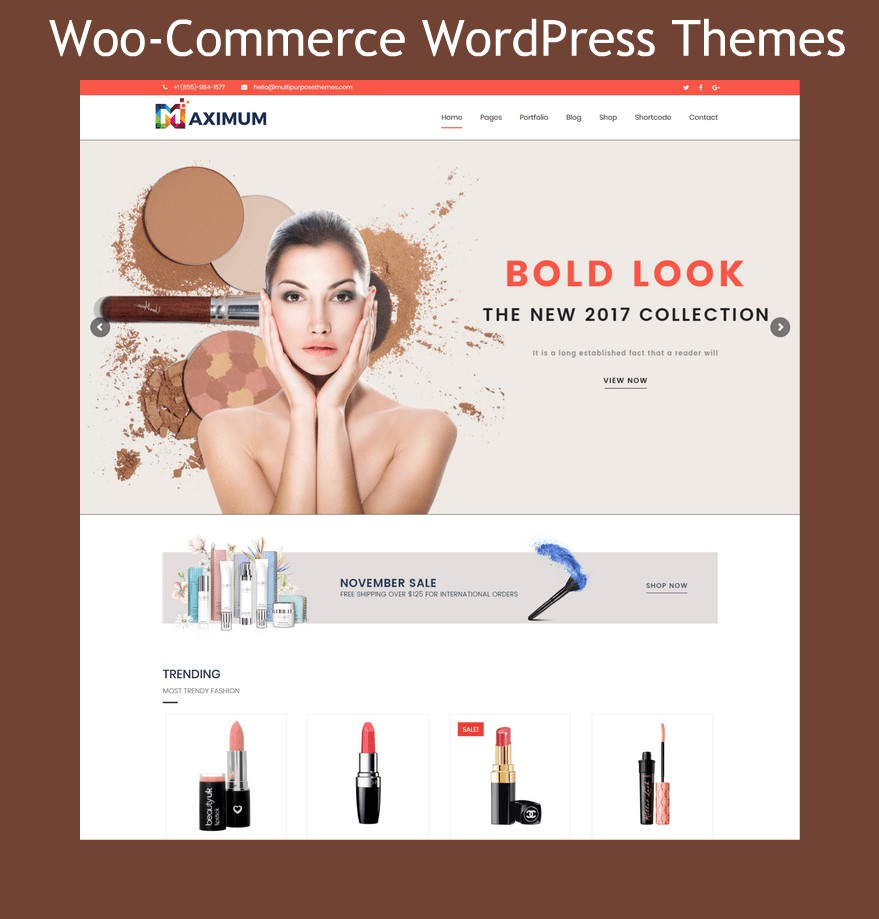 Woo-Commerce WordPress Themes Powered By MultiPurpose Themes