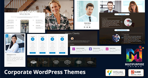 Corporate WordPress Themes Powered By MultiPurpose Themes