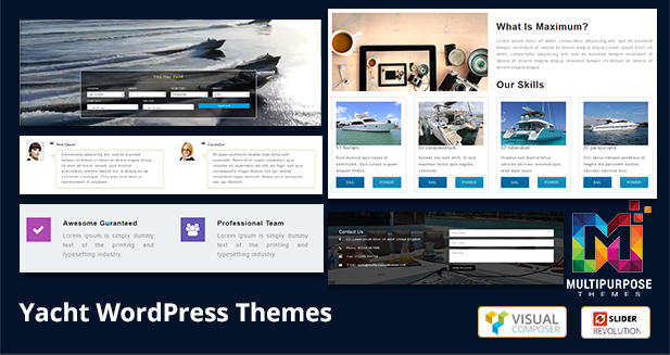 Responsive WordPress Themes For Sailing, Yachting, Cruising Businesses