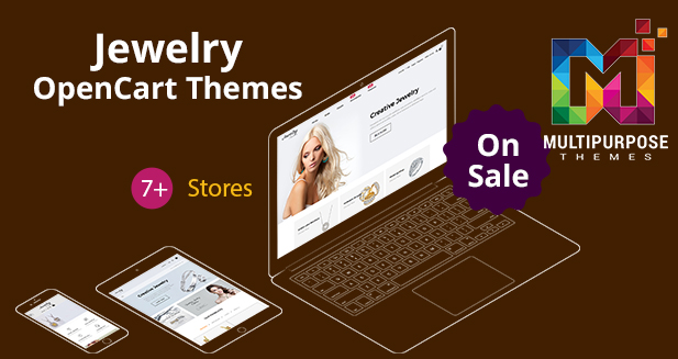 Get 8+ Jewelry OpenCart Themes Just For $59!! Lots Of Features Added