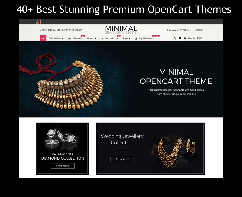 40+ Best Stunning Premium OpenCart Themes Designed By MultiPurpose Themes