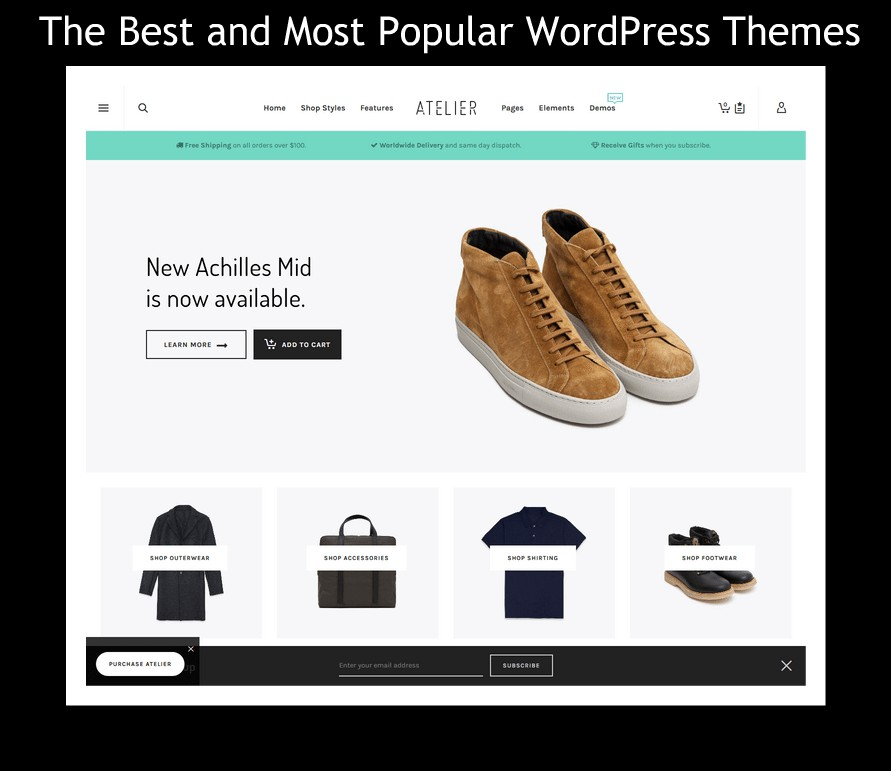 The Best And Most Popular WordPress Themes Of 2018